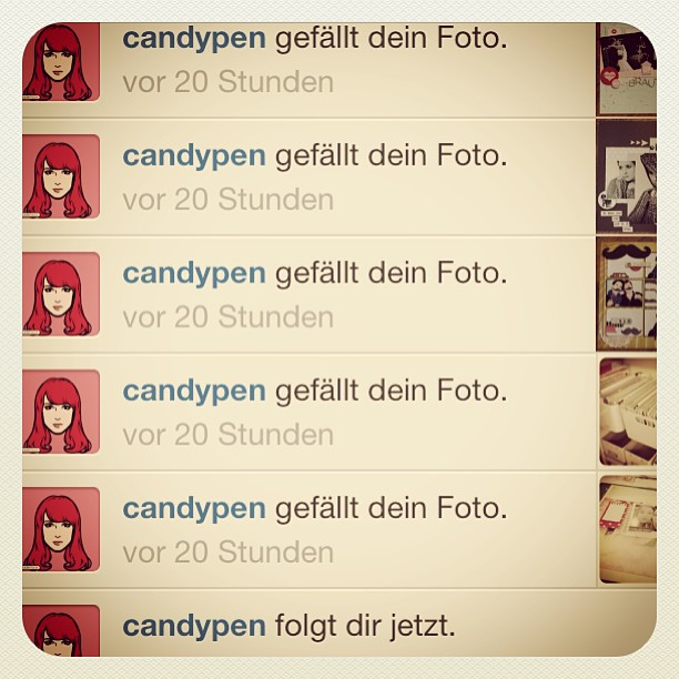 Thank you #candypen for your likes :-)
