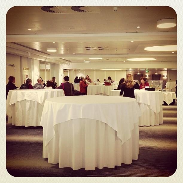Demo Treffen Ffm ... Noch ist es ruhig :-)
