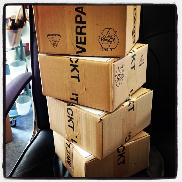 Päckchen für meine Demos zur Beförderung :-)