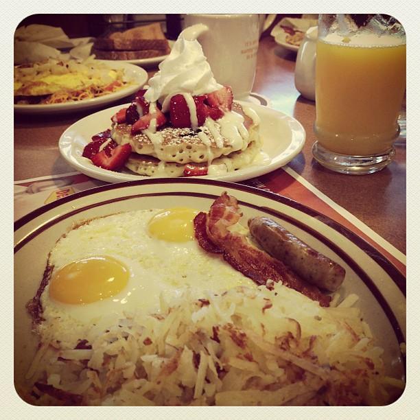 Typical breakfast :-D #utah