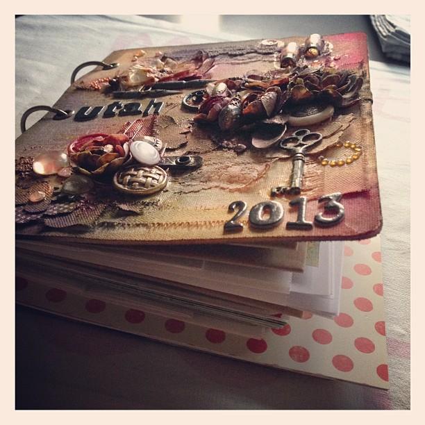 Reisetagebuch ist fertig zum füllen :-) #utah #prämienreise #stampinup