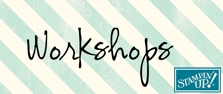 Workshop Schriftzug