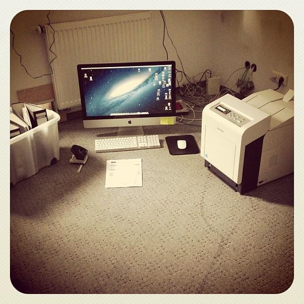 Behelfs-Büro :-)