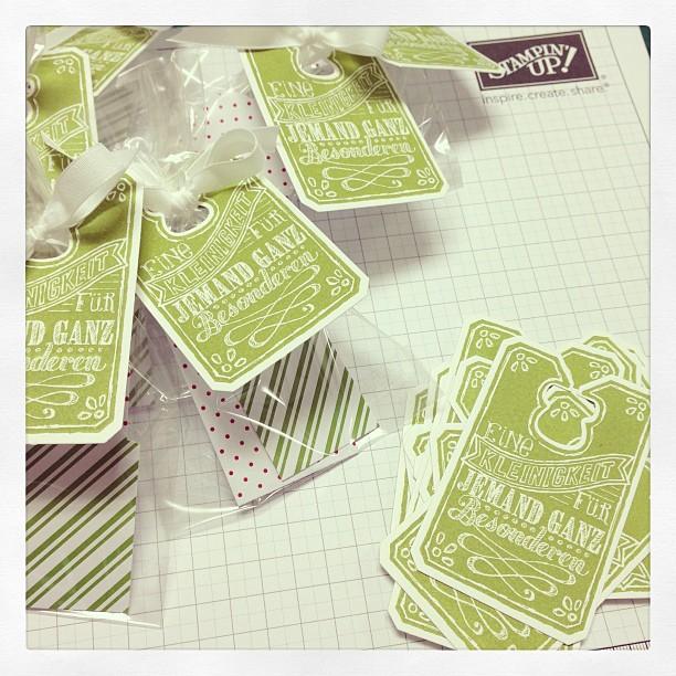 Die neuen Mini-Kataloge gehen auf die Reise... Natürlich mit kleinem Give-a-Way :-)