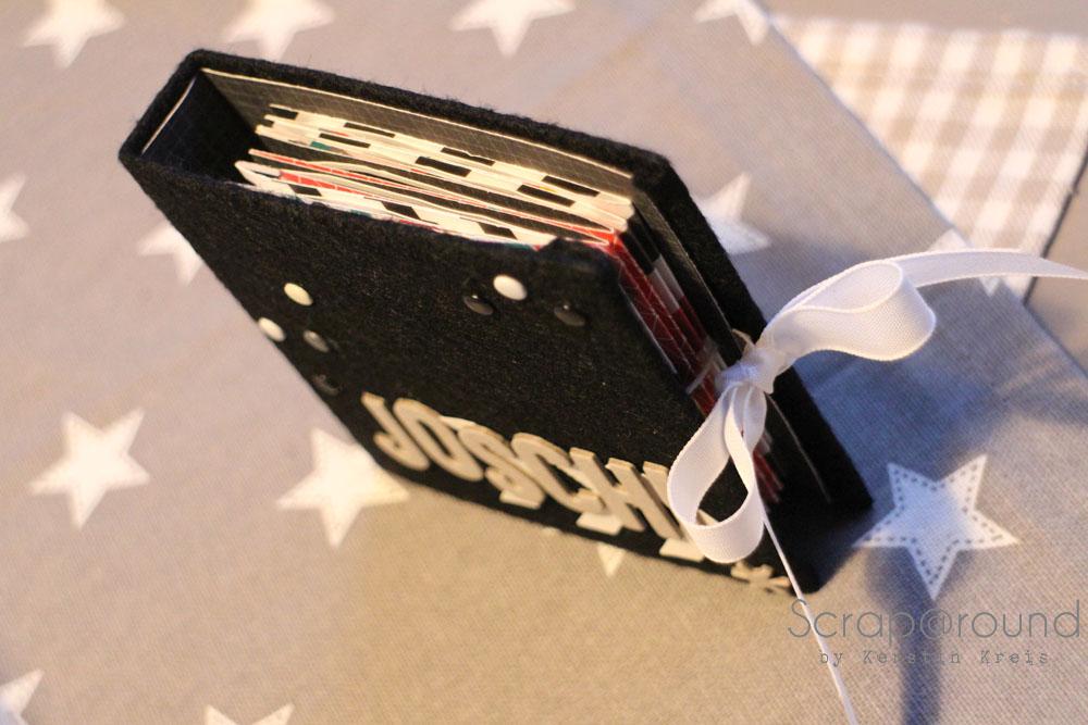 Joschi Leporello MiniAlbum mit Stampin´ Up! DP Kaleidoskop Frühjahr2014 Detail2
