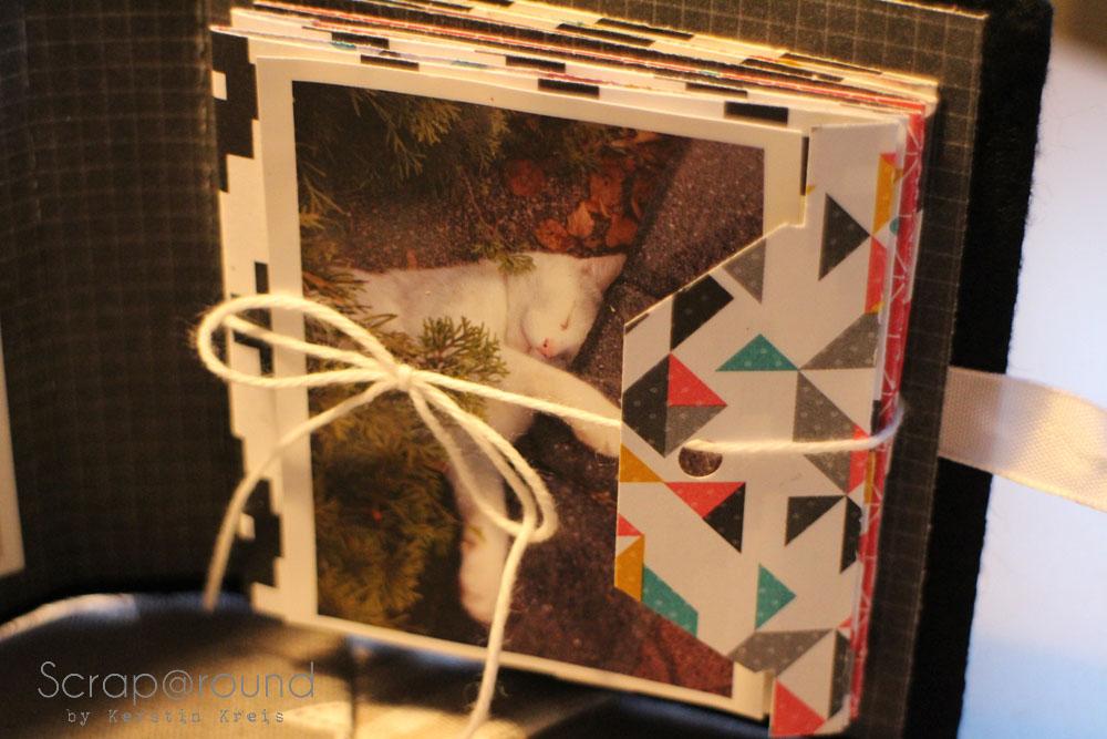 Joschi Leporello MiniAlbum mit Stampin´ Up! DP Kaleidoskop Frühjahr2014 Detail4