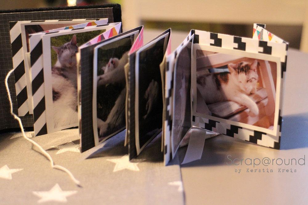 Joschi Leporello MiniAlbum mit Stampin´ Up! DP Kaleidoskop Frühjahr2014 Detail5