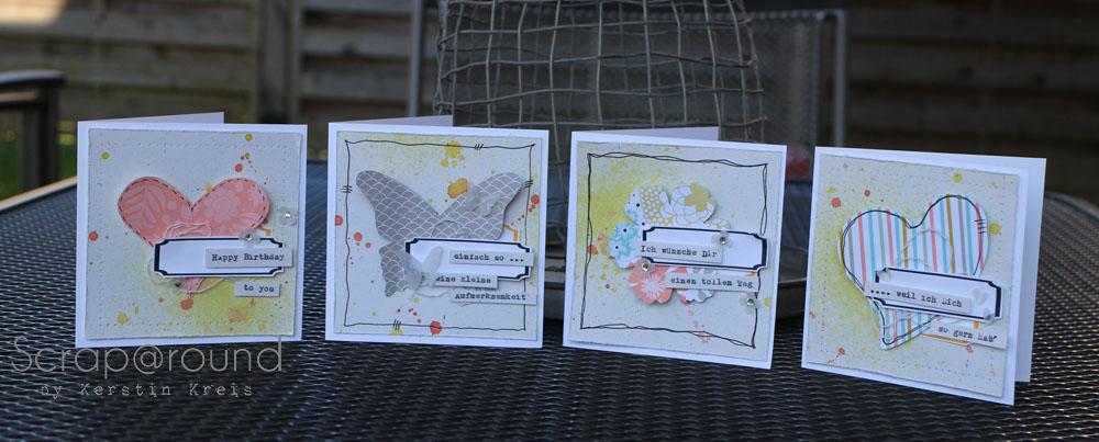 Karte mit Designerpapier Süße Sorbets SAB2014 Detail3