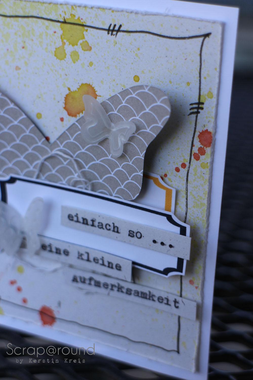 Karte mit Designerpapier Süße Sorbets SAB2014 Detail4