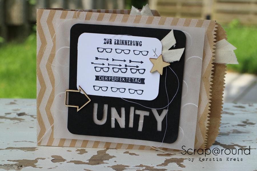 "MiniAlbum Unity Stempelset ""Work of Art"""