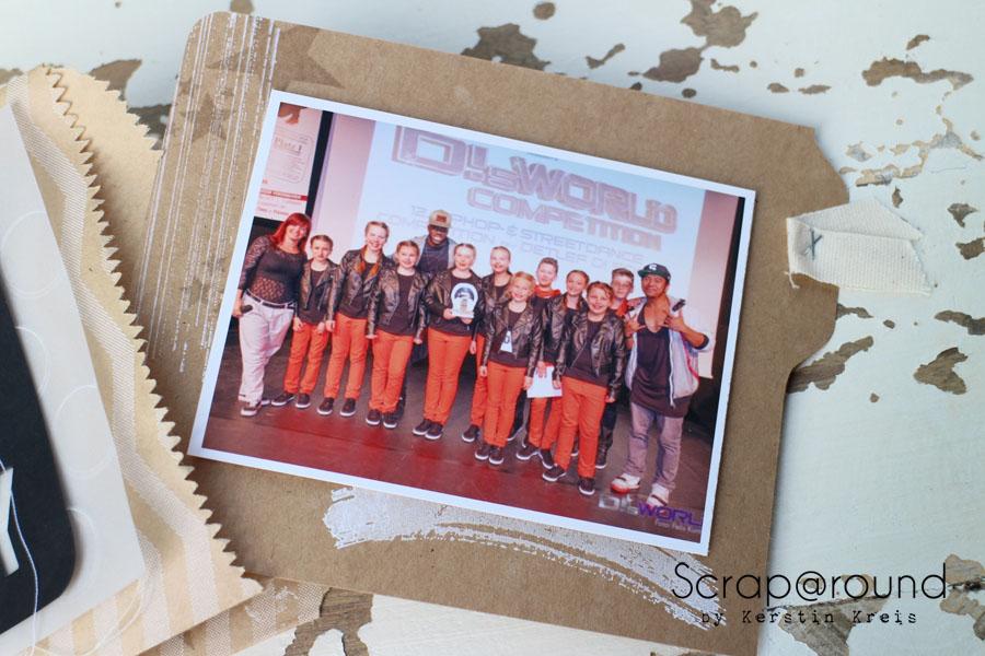 """MiniAlbum Unity Stempelset """"Work of Art"""" Detailbild2"""