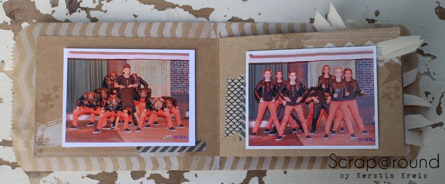 """MiniAlbum Unity Stempelset """"Work of Art"""" Detailbild4"""