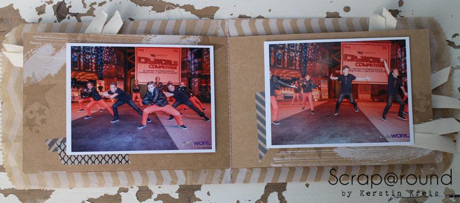 """MiniAlbum Unity Stempelset """"Work of Art"""" Detailbild6"""
