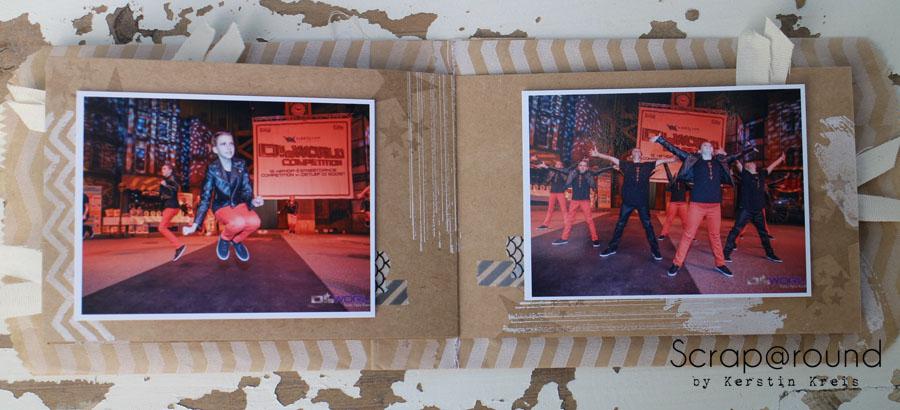 """MiniAlbum Unity Stempelset """"Work of Art"""" Detailbild7"""