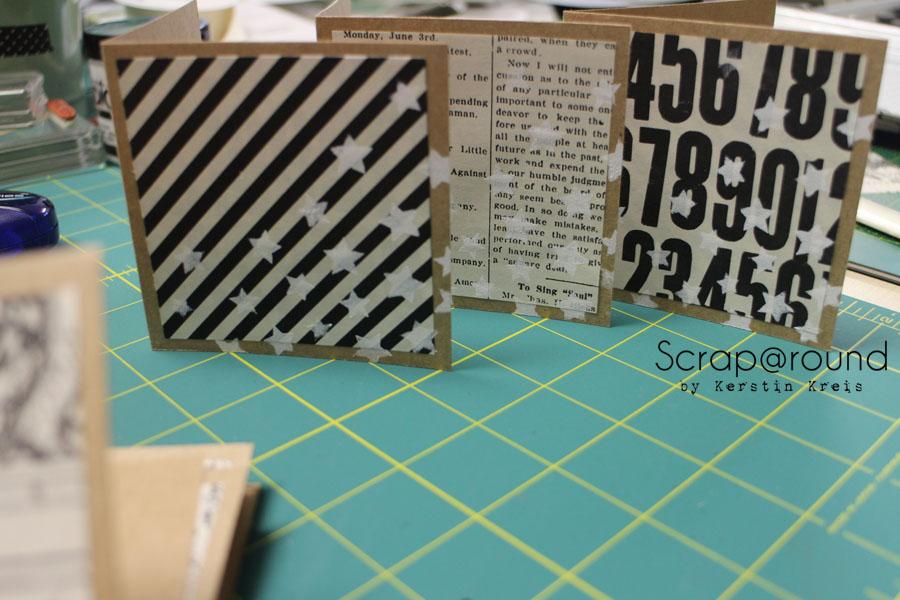 """Stamping & Blogging DT Sketch66 Karte mit Stampin´ Up! Stempelset """"Wimpeleien"""" und DesignerPapier """"Erstausgabe"""" Detailbild4"""