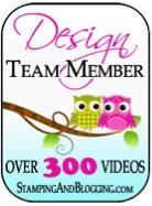 Stamping & Blogging Sidebar Button