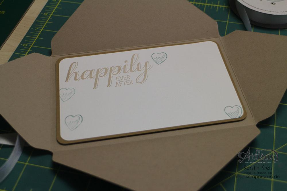 """Hochzeitsgeschenk mit StempelSet """"Eins für alles"""" Stampin´ Up! Artisan DesignTeam BlogHop 28.08.2014 Detailbild8"""