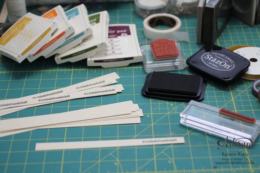 Goodies Katalogversand mit Thinlits Umschlag Geschenkkarte Detailbild5