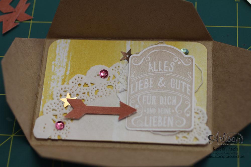 Goodies Katalogversand mit Thinlits Umschlag Geschenkkarte Detailbild2