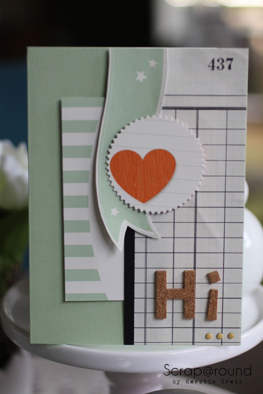 "Stamping & Blogging DT Sketch67 Karte mit Stampin´ Up! ProjectLife Set ""kleine Momente"""