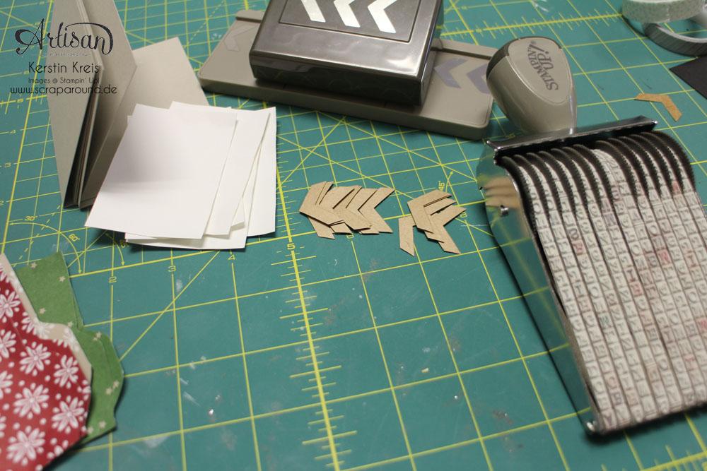 """Stamping & Blogging DT Sketch70 Karte """"für dich"""" mit Drehstempel """"Alphabet"""" und DP """"festlich geschmückt"""" Detailbild3"""