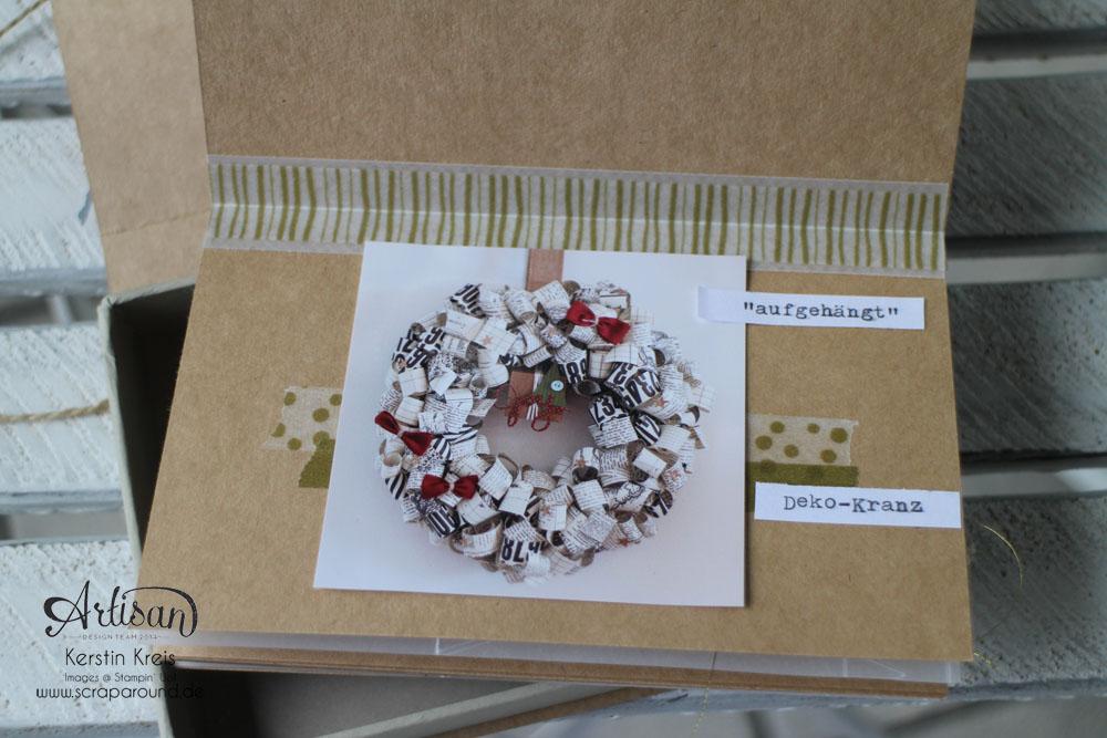 Memories in a Box – Stampin´ Up! Artisan DesignTeam BlogHop 09.10.2014 – MiniAlbum in der Box mit Kraft Cardstock und Gold-Transparentpapier Detailbild08