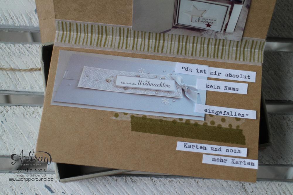 Memories in a Box – Stampin´ Up! Artisan DesignTeam BlogHop 09.10.2014 – MiniAlbum in der Box mit Kraft Cardstock und Gold-Transparentpapier Detailbild11