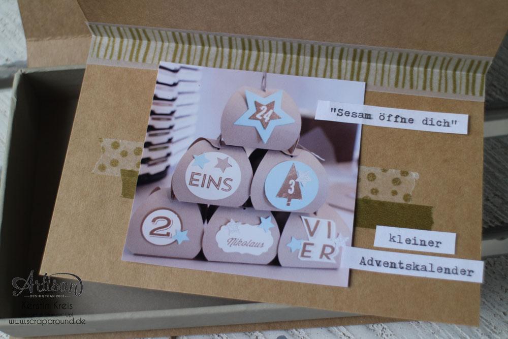 Memories in a Box – Stampin´ Up! Artisan DesignTeam BlogHop 09.10.2014 – MiniAlbum in der Box mit Kraft Cardstock und Gold-Transparentpapier Detailbild04