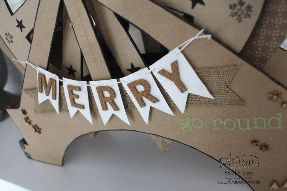 """""""merry-go-round"""" - Stampin´ Up! Artisan DesignTeam BlogHop 06.11.2014 - Riesenrad aus Cardstock Detailbild1"""