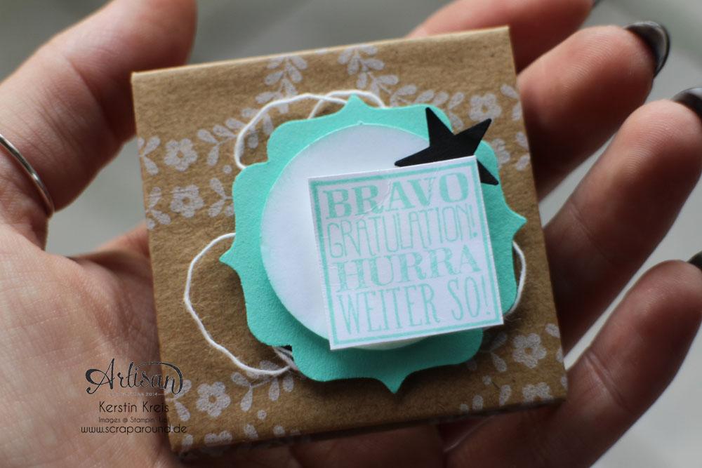 """""""Mini-Leporello"""" - Stampin´ Up! Artisan DesignTeam BlogHop 20.11.2014 - Mini-Leporello mit Pergament-Papier und Designer-Geschenkpapier """"Festtage"""" Detailbild04"""