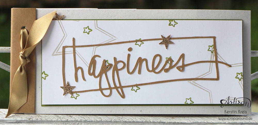 "Stamping & Blogging DT Sketch83 MiniAlbum ""happiness"" mit Pop-Up-Karte Kreis Detailbild1"