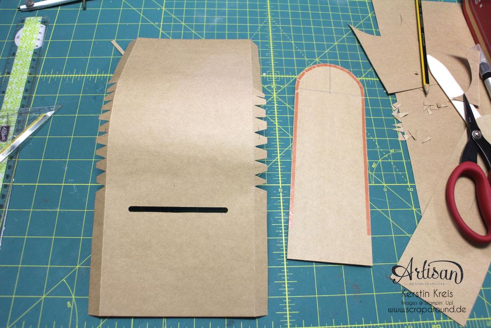 """Santa´s MailBox"" - Stampin´ Up! Artisan DesignTeam BlogHop 04.12.2014 -  Detailbild6"