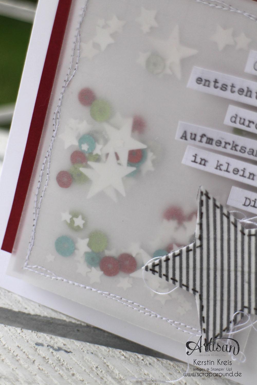 """Schüttelkarte"" - Stampin´ Up! Artisan DesignTeam BlogHop 11.12.2014 -  Detailbild2"