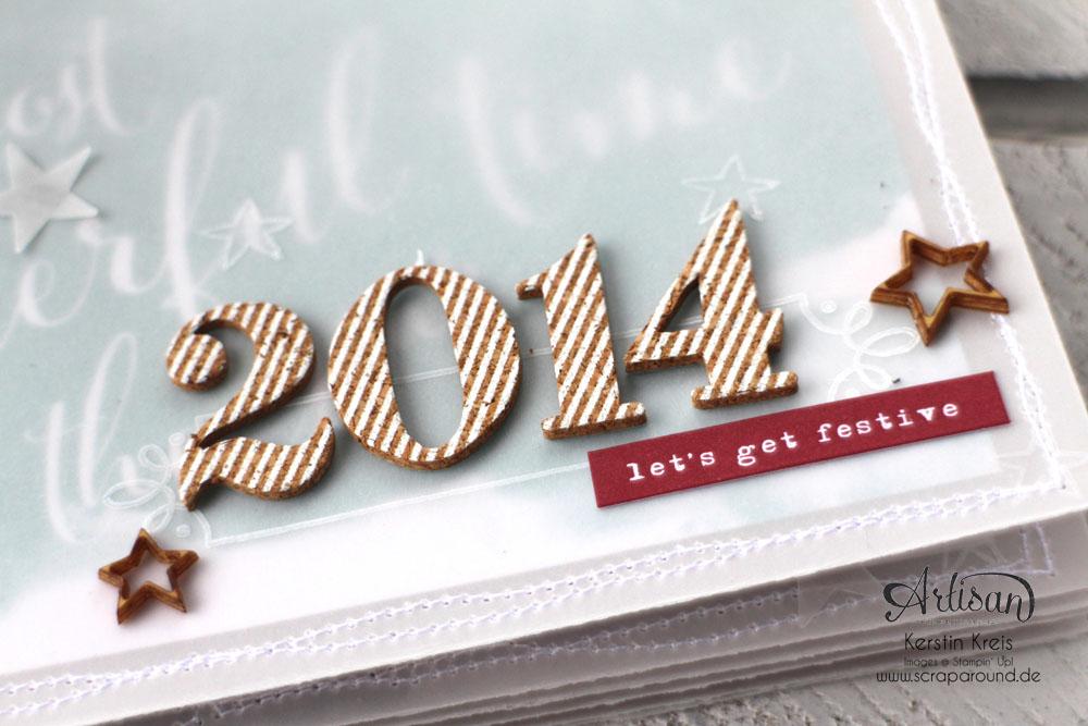 """""""MiniAlbum aus Pergament"""" - Stampin´ Up! Artisan DesignTeam BlogHop 18.12.2014  Detailbild01"""