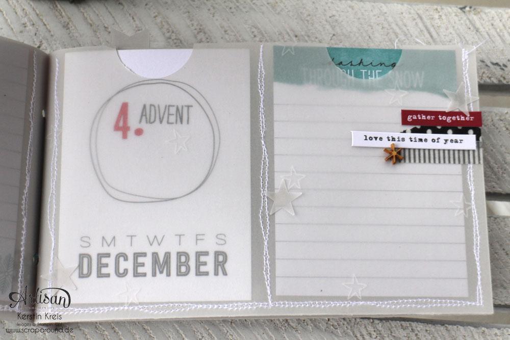 """""""MiniAlbum aus Pergament"""" - Stampin´ Up! Artisan DesignTeam BlogHop 18.12.2014  Detailbild05"""