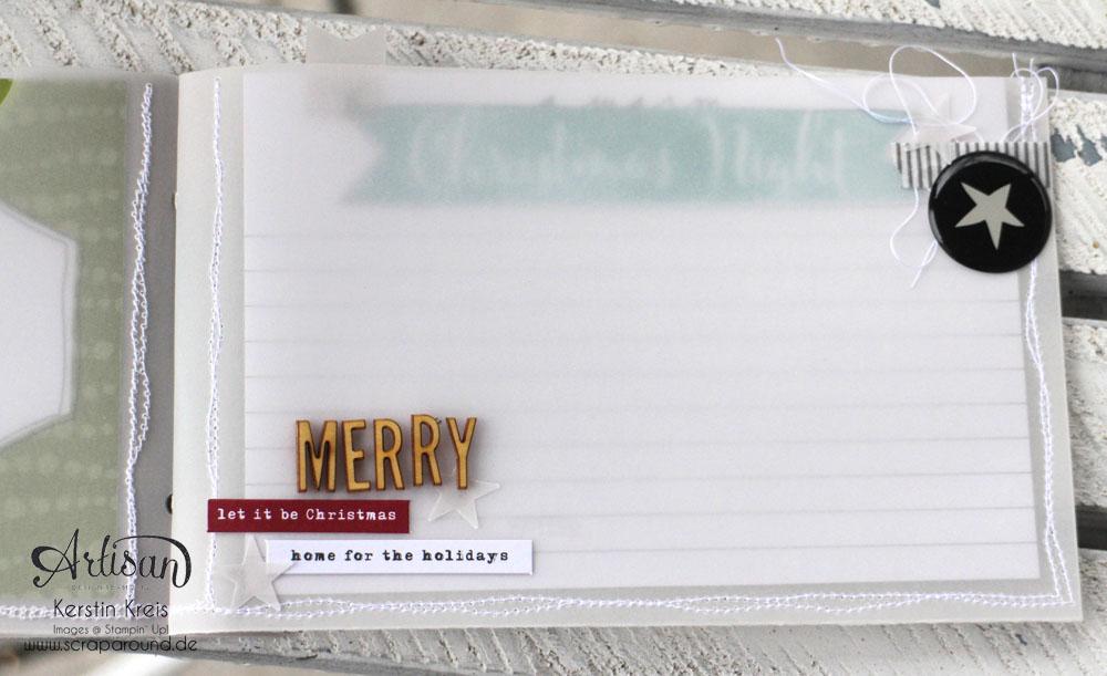 """""""MiniAlbum aus Pergament"""" - Stampin´ Up! Artisan DesignTeam BlogHop 18.12.2014  Detailbild06"""