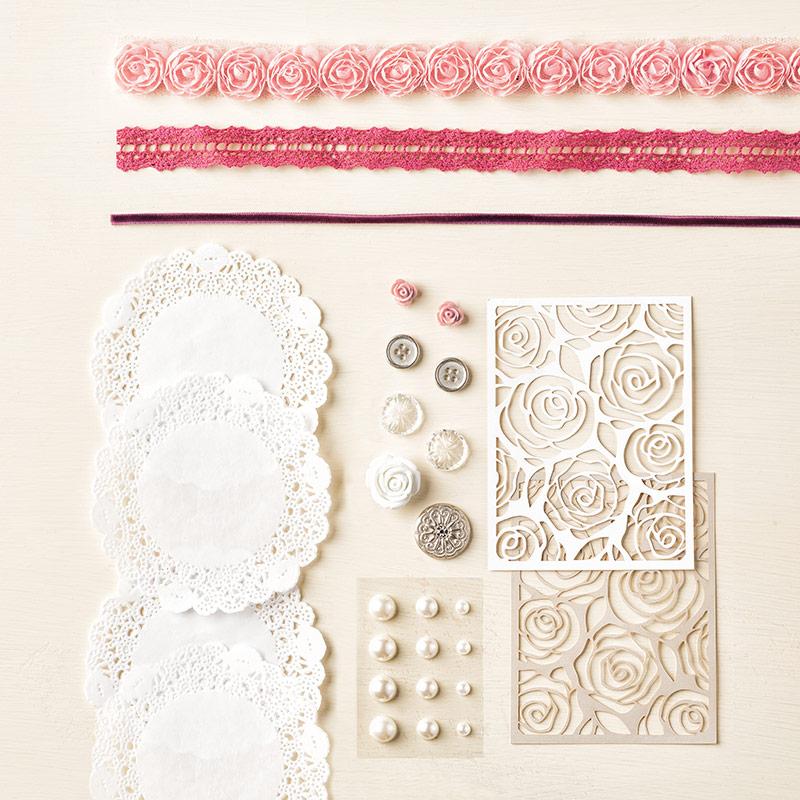 Stampin Up Kreativ-Set Accessoires für Hochzeiten
