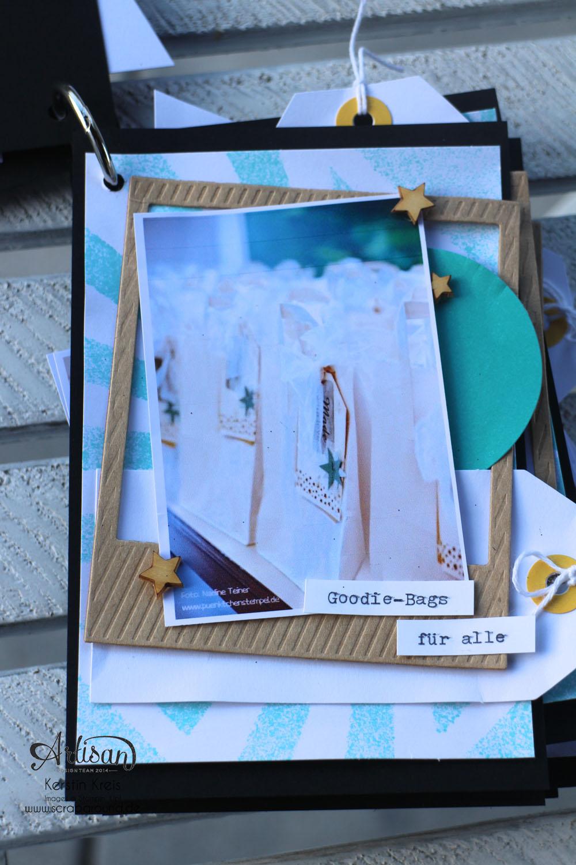 """""""MiniAlbum CampInk 2014"""" - Stampin´ Up! Artisan DesignTeam BlogHop 15.01.2015 - Album mit dem Projekt-Set """"Für jemand Besonderen"""" Detailbild03"""