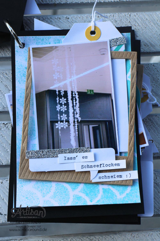"""""""MiniAlbum CampInk 2014"""" - Stampin´ Up! Artisan DesignTeam BlogHop 15.01.2015 - Album mit dem Projekt-Set """"Für jemand Besonderen"""" Detailbild13"""