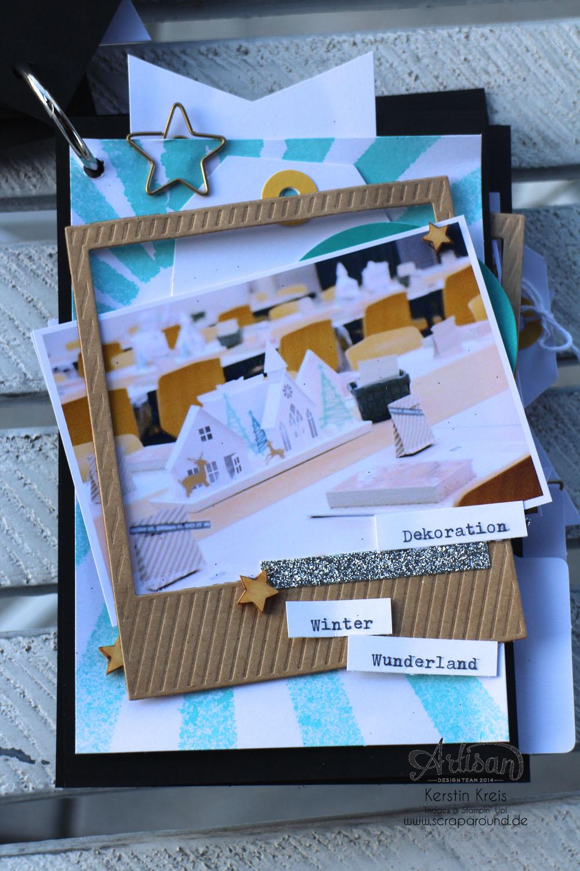 """""""MiniAlbum CampInk 2014"""" - Stampin´ Up! Artisan DesignTeam BlogHop 15.01.2015 - Album mit dem Projekt-Set """"Für jemand Besonderen"""" Detailbild05"""