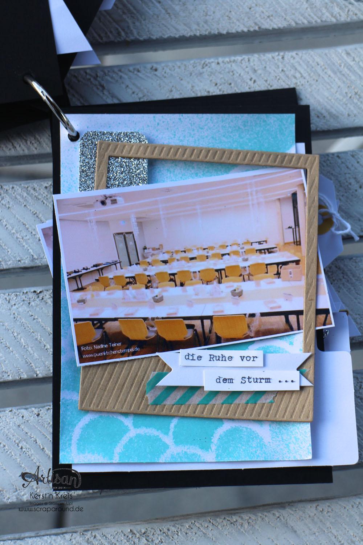 """""""MiniAlbum CampInk 2014"""" - Stampin´ Up! Artisan DesignTeam BlogHop 15.01.2015 - Album mit dem Projekt-Set """"Für jemand Besonderen"""" Detailbild06"""