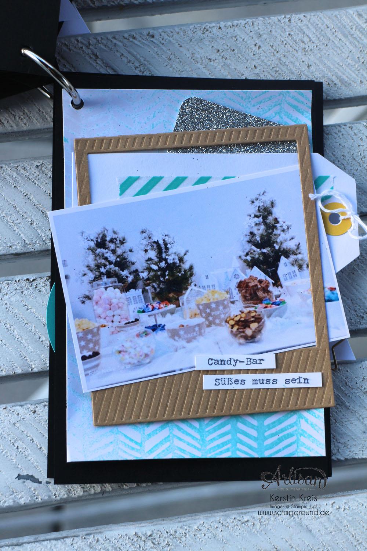 """""""MiniAlbum CampInk 2014"""" - Stampin´ Up! Artisan DesignTeam BlogHop 15.01.2015 - Album mit dem Projekt-Set """"Für jemand Besonderen"""" Detailbild09"""
