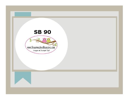 Stamping & Blogging DT Sketch90 Feb 4