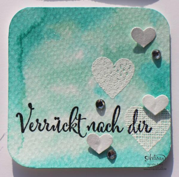 "Inspiration&Art BlogHop14022015 Insta-Minis Watercolor Stempelset ""wir beide"" Frühjahr-Sommerkatalog 2015 Detailbild05"