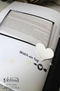 """""""MiniAlbum Buttonhole Stich Binding"""" - Stampin´ Up! Artisan DesignTeam BlogHop 26.03.2015 - MiniAlbum mit ProjektSet """"Das Leben lacht"""" und Buttonhole Stich Bindung Detailbild10"""