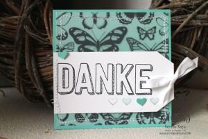 """Stamping & Blogging DT Sketch95 Danke-Karten mit Stempelset """"Dankbar für dich"""" und SAB DP """"Pure Perfektion"""" Detailbild1"""
