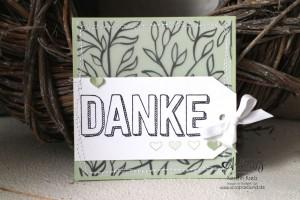 """Stamping & Blogging DT Sketch95 Danke-Karten mit Stempelset """"Dankbar für dich"""" und SAB DP """"Pure Perfektion"""" Detailbild2"""