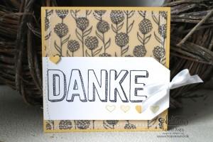 """Stamping & Blogging DT Sketch95 Danke-Karten mit Stempelset """"Dankbar für dich"""" und SAB DP """"Pure Perfektion"""" Detailbild4"""