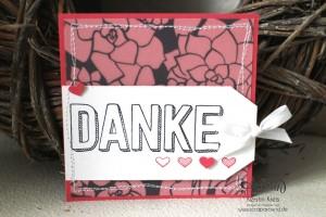 """Stamping & Blogging DT Sketch95 Danke-Karten mit Stempelset """"Dankbar für dich"""" und SAB DP """"Pure Perfektion"""" Detailbild3"""