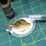 """Stamping & Blogging DT Sketch96 Goldfieber Karte mit Sale-a-bration Stempelset """"Wie du bist"""" und Designerpapier """"Erstausgabe"""" Detailbild4"""